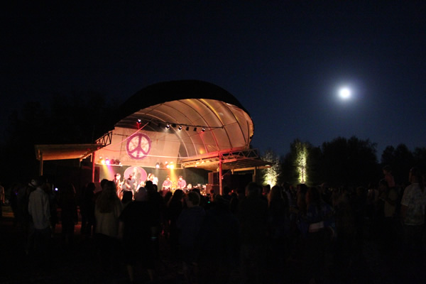 moon over stage